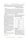Đánh giá khả năng chịu mặn của các giống Lúa om 4498, VND 95 - 20, IR 64, CR203 ở mức độ mô sẹo bằng phương pháp nuối cấy In vitro