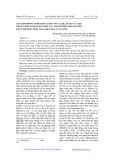 Xác định đồng thời hàm lượng vết Cd(II), Pb(II) và Cu(II) trong một số mẫu đất khu vực thành phố Thái Nguyên bằng phương pháp Von-Ampe hòa tan Anốt