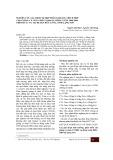 Nghiên cứu xác định tổ hợp phân khoáng thích hợp cho giống cà chua mới VL2004 vụ đông xuân 2008-2009 trên đất 1 vụ tại huyện Hữu Lũng, tỉnh Lạng Sơn