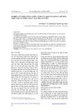 Nghiên cứu khả năng Giâm cành của một số giống chè mới nhập nội có triển vọng tại Thái Nguyên