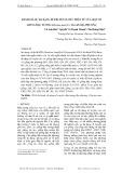 Đánh giá sự đa dạng di truyền ở mức phân tử của một số giống đậu tương (Glycine max (L.) Merrill) địa phương