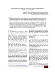 Thành phần hóa học của tinh dầu lá trầu (Piper Betle L.)  tại Hải Dương