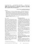 Nghiên cứu ảnh hưởng của mật độ và khoảng cách gieo trồng tổ hợp ngô lai Il3 x Il6 trong vụ Xuân và vụ Thu năm 2010 tại một số tỉnh vùng Đông Bắc