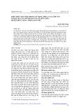 Kiến thức bản địa trong Sử dụng thực vật Lâm sản ngoài Gỗ của người dân tại xã Hữu Liên, huyện Hữu Lũng, tỉnh Lạng sơn
