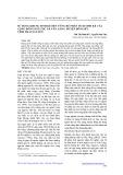 Sử dụng khung sinh kế bền vững để phân tích sinh kế của cộng đồng dân tộc xã Vân Lăng, huyện Đồng Hỷ, tỉnh Thái Nguyên