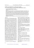 Nghiên cứu ảnh hưởng của một số yếu tố đến các chỉ tiêu Kinh tế - Kỹ thuật khi mài thép không gỉ 3X13