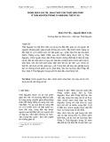 Chính sách cai trị, khai thác của thực dân Pháp ở Thái Nguyên trong 30 năm đầu thế kỷ XX