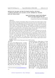 Đánh giá sự đa dạng di truyền ở một số dòng chè Shan (Camellia Sinensis var: assamica (Mast.) Pierre sec. PHAMH) bằng kỹ thuật RAPD