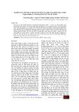Nghiên cứu mối quan hệ di truyền của một số giống đậu xanh [Vigna radiata (L.)Wilczek] bằng kỹ thuật RAPD