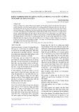 Khảo nghiệm một số giống Ngô lai trong 2 vụ xuân và đông năm 2008 tại Thái Nguyên