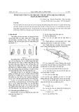 Tính toán tối ưu giá trị góc côn bulông kẹp dao phẳng dạng rãnh côn kín
