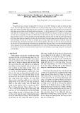 Một số đánh giá về hiệu quả nhận dạng tiếng nói dung kỹ thuật phân tích băng con