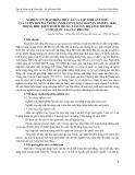 Nghiên cứu đặc điểm thức ăn và tập tính ăn uống của Vượn đen má trắng ( Nomascus leucogenys Ogilby, 1840 trong điều kiện nuôi ở Trung tâm cứu hộ Linh trưởng vườn quốc gia Cúc Phương