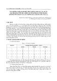 Xác định lượng đạm bón thúc đòng cho lúa vụ xuân tại Thái Nguyên dựa trên cơ sở đánh giá tình trạng dinh dưỡng dạm của cây thông qua thang màu lá sắc