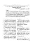 Nghiên cứu sự sinh trưởng và khả năng tích lũy ASEN của cỏ Vetiveria (Vetiveria zizanioides L.) trồng trên đất ô nhiễm do khai thác khoáng sản