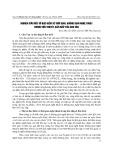 Nghiên cứu một số đặc điểm về thời gian, không gian nghệ thuật trong tiểu thuyết Bão Biển của Chu Văn