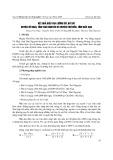 Kết quả điều tra lưỡng cư bò sát huyện Võ Nhai tỉnh Thái Nguyên và huyện Chợ Đồn tỉnh Bắc Kạn