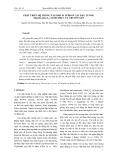 Phát triển hệ thống tái sinh in vitro cây đậu tương (glycine max (l.) merill) phục vụ chuyển gen