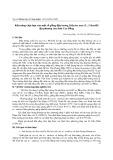 Khả năng chịu hạn của một số giống đậu tương ( Glycine max ( L. ) Merrill ) địa phương của tỉnh Cao Bằng