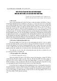 Một số yếu tố hạn chế sản xuất nông nghiệp trên đất dốc ở Sơn La và các giải pháp khắc phục