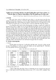 Nghiên cứu sự đa dạng sinh học của một số giống đậu xanh ( Vigna Radiata ( L. ) Wilczek ) phục vụ công tác chọn giống và bảo tồn nguồn gen cây đậu xanh