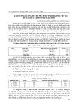 Xã Trường Dương huyện Phú Bình tỉnh Thái Nguyên qua tư liệu địa bạ minh mạng 21 ( 1840 )
