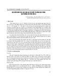 Đặc điểm hình thái, hóa sinh hạt của một số giống đậu tương địa phương của tỉnh Sơn La