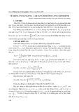 Về định lý Vevanlinna Cartan cho đường cong chỉnh hình