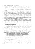 Ảnh hưởng của một số yếu tố môi trường và giá thể đến sinh trưởng của cây lan Dendrobium Hybrid in Vitro