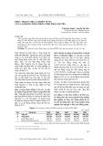Thực trạng việc làm bền vững của lao động nông thôn tỉnh Thái Nguyên