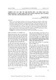 Nghiên cứu các yếu tố ảnh hưởng đến sự thỏa mãn của khách hàng cá nhân đối với ngân hàng thương mại cổ phần công thương, chi nhánh Đông Hà Nội