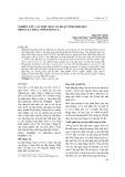 Nghiên cứu các hợp chất có hoạt tính sinh học trong lá trầu (Piper Betle L.)