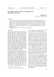 Bàn thêm về phân loại văn xuôi Việt Nam giai đoạn 1930-1945