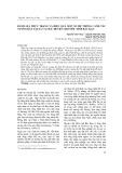 Đánh giá thực trạng và hiệu quả một số hệ thống canh tác nương rẫy tại xã Cao Kỳ - Huyện Chợ Mới - Tỉnh Bắc Kạn