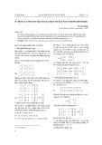 Sử dụng lý thuyết đại số giải một số bài toán trong hình học