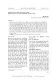Nghiên cứu sự phân hóa giàu nghèo ở một số xã vùng ven thành phố Thái Nguyên