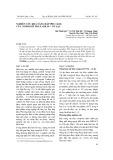 Nghiên cứu khả năng hấp phụ Cd(II) của compozit polyanilin – vỏ lạc