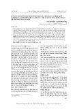 Sử dụng phương pháp phân tích biên (SFA) để đánh giá hiệu quả sản xuất của phương thức canh tác chè an toàn tại xã phúc Xuân thành phố Thái Nguyên