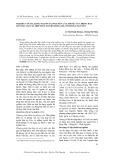 Nghiên cứu đa dạng nguồn tài nguyên cây thuốc của đồng bào dân tộc Dao xã Hợp Tiến, huyện Đồng Hỷ, tỉnh Thái Nguyên