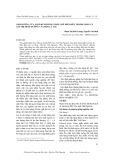 Ảnh hưởng của một số phương pháp chế biến đến thành phần và giá trị dinh dưỡng của bột lá lạc