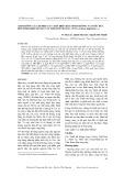 Ảnh hưởng của tổ hợp các chất điều hòa sinh trưởng và nước dừa đến sinh khối mô sẹo cây trinh nữ hoàng cung (Crinum latifolium L.,)