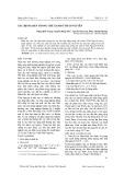 Xác định Asen trong chè xanh ở Thái Nguyên