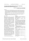Xác định mật độ thích hợp cho giống đậu tương Đ2101 tại huyện Mường Khương, tỉnh Lào Cai