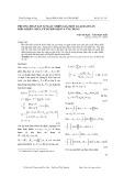 Phương pháp xấp xỉ ngẫu nhiên giải một loại bài toán điều khiển chứa tích phân bội và ứng dụng