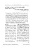 Nghiên cứu ảnh hưởng của mật độ ương lên sinh trưởng và tỷ lệ sống của cá tầm xi -bê-ri (acipenser baerii brandt, 1869) giai đoạn cá bột lên cá hương