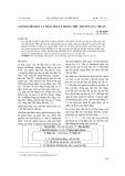 Cấp độ liên kết trần thuật trong tiểu thuyết của Thuận