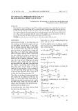 Ứng dụng của phép biến đổi Laplace để giải phương trình vật lí toán