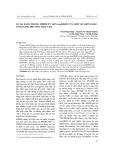 Sự đa dạng trong trình tự gen GmDreb5 của một số giống đậu tương địa phương Việt Nam