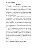 Tiểu luận Triết học số 6 - Quan điểm của chủ nghĩa Mác về con người