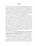Tiểu luận Triết học số 60 - Những mâu thuẫn biện chứng trong nền kinh tế thị trường định hướng xã hội chủ nghĩa ở Việt Nam